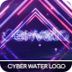 Cyber Water Logo - VideoHive Item for Sale