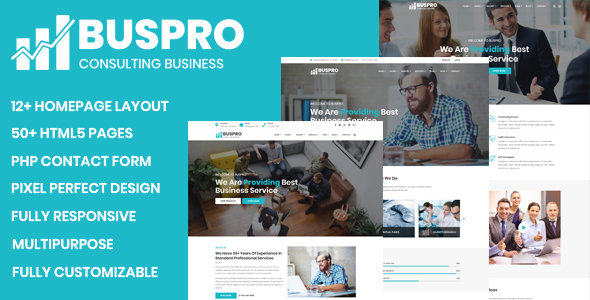 Buspro - Multipurpose Business and Corporate Template
