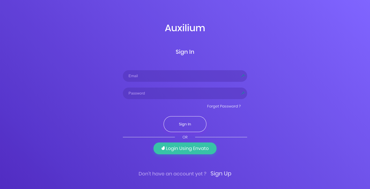 Auxilium : Support Desk for Freelancers and Envato Market Authors
