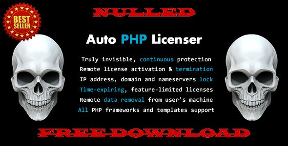 Auto PHP Licenser