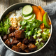 Homemade Thai Beef and Rice Bowl - PhotoDune Item for Sale