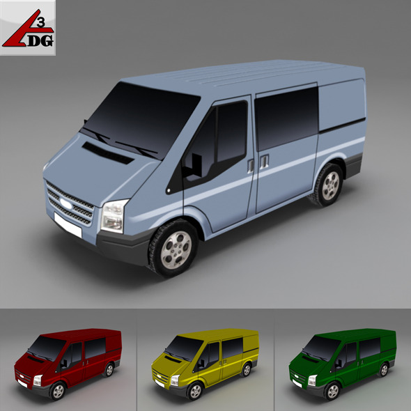ford transit tourneo FT - 3DOcean Item for Sale