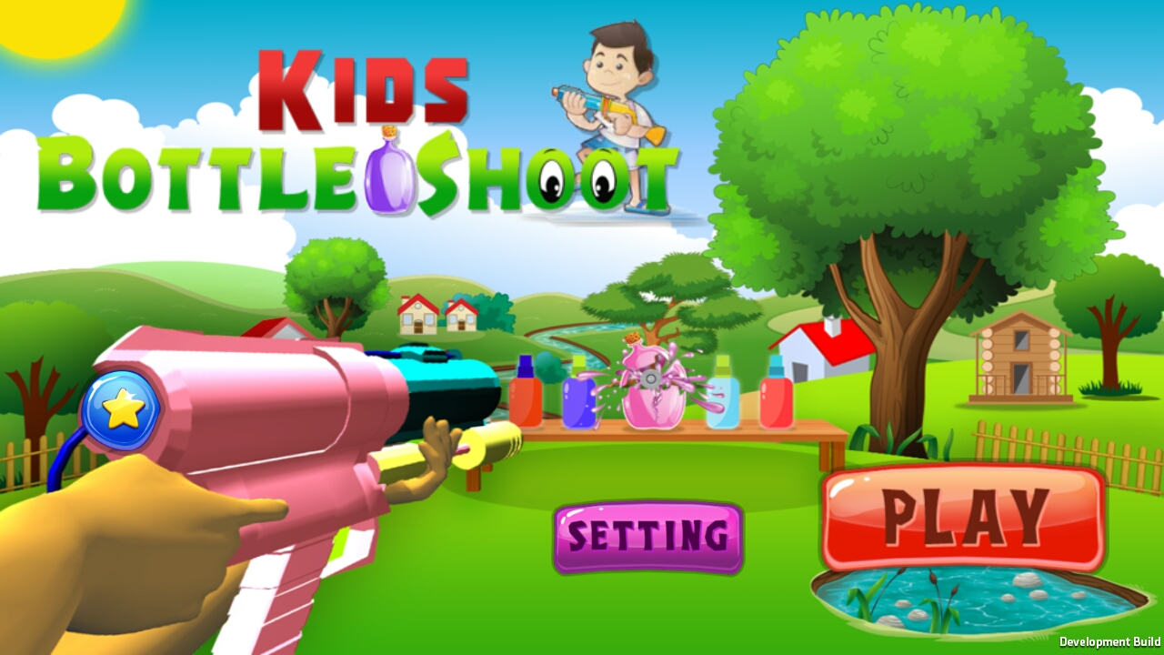 Kids Bottle Shoot -Unity3D (Android & IOS)