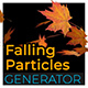 3D Falling Particle Generator - VideoHive Item for Sale