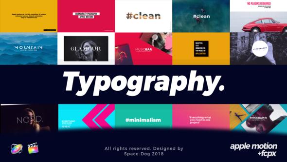 Modern Typography | Final Cut Pro