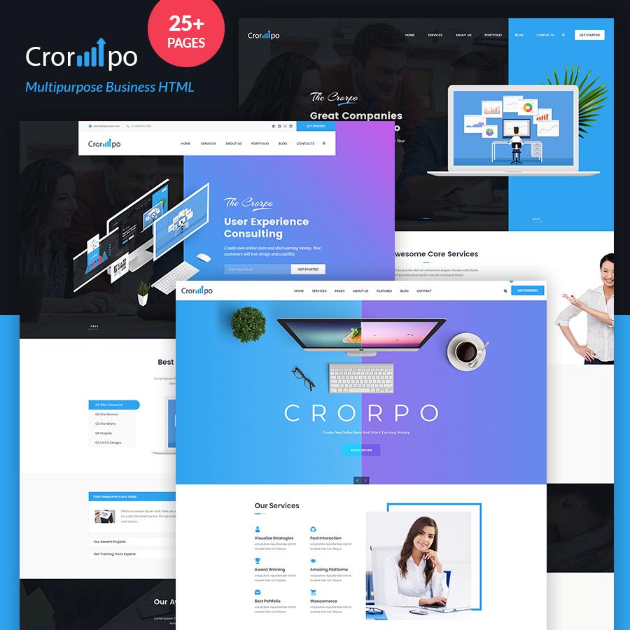 Corpo | The Multi-Purpose HTML5 Template - 1