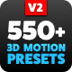 3D Motion Presets for Animation Composer - VideoHive Item for Sale