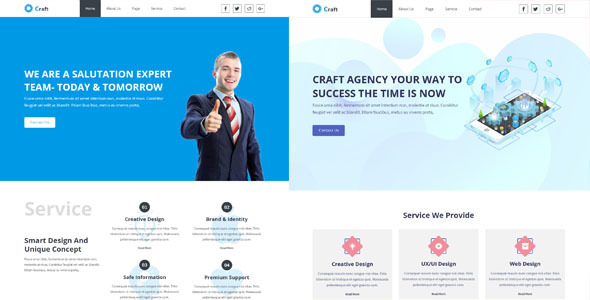 Craft- Creative Agency Muse Template
