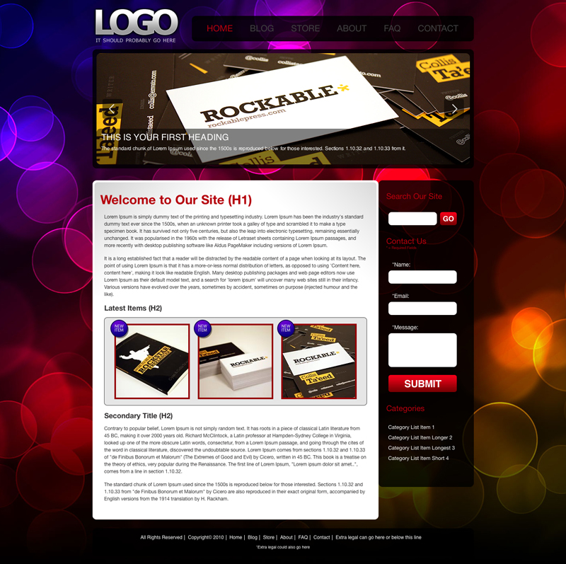 Free Download Theme Bokeh Nulled Latest Version