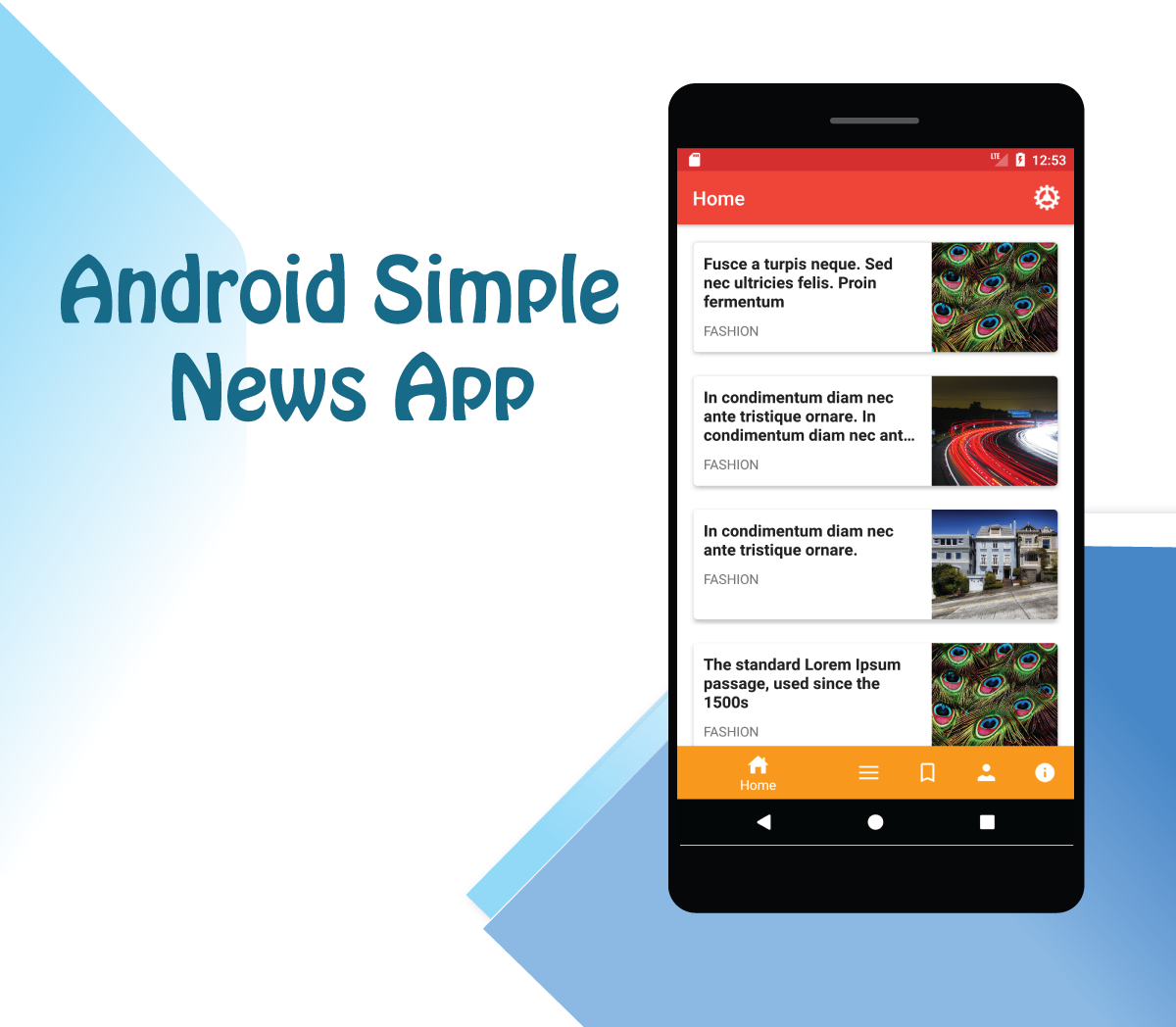 Arthur Android Simple News App