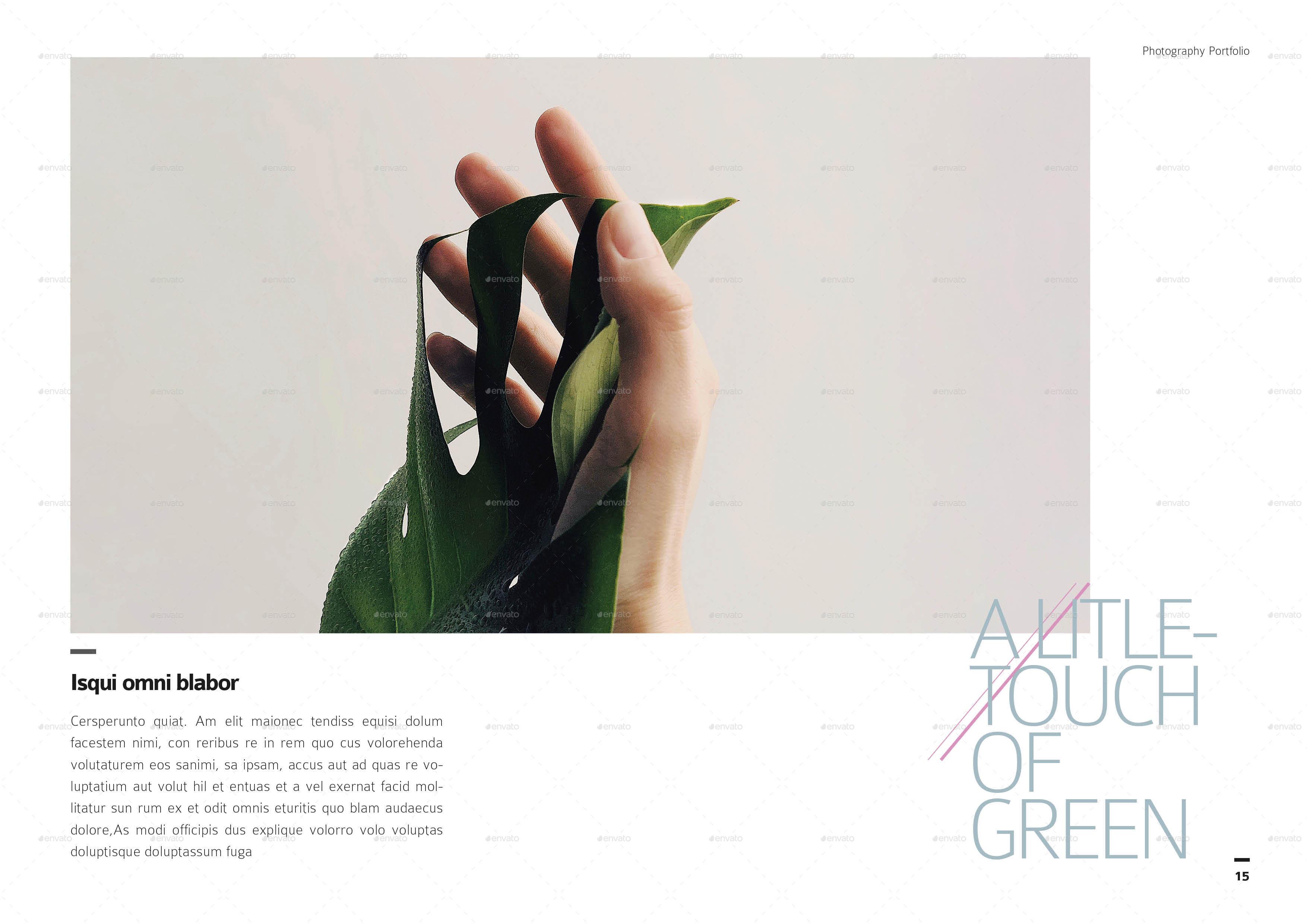 Photography Portfolio Template