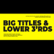 Corporate Big Titles - VideoHive Item for Sale