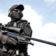 Police tactical group sniper with rifle in hands - PhotoDune Item for Sale