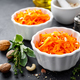 Fresh carrot salad with oil and nuts - PhotoDune Item for Sale