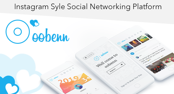 Latest] oobenn Instagram Style Social Networking Script Nulled Free