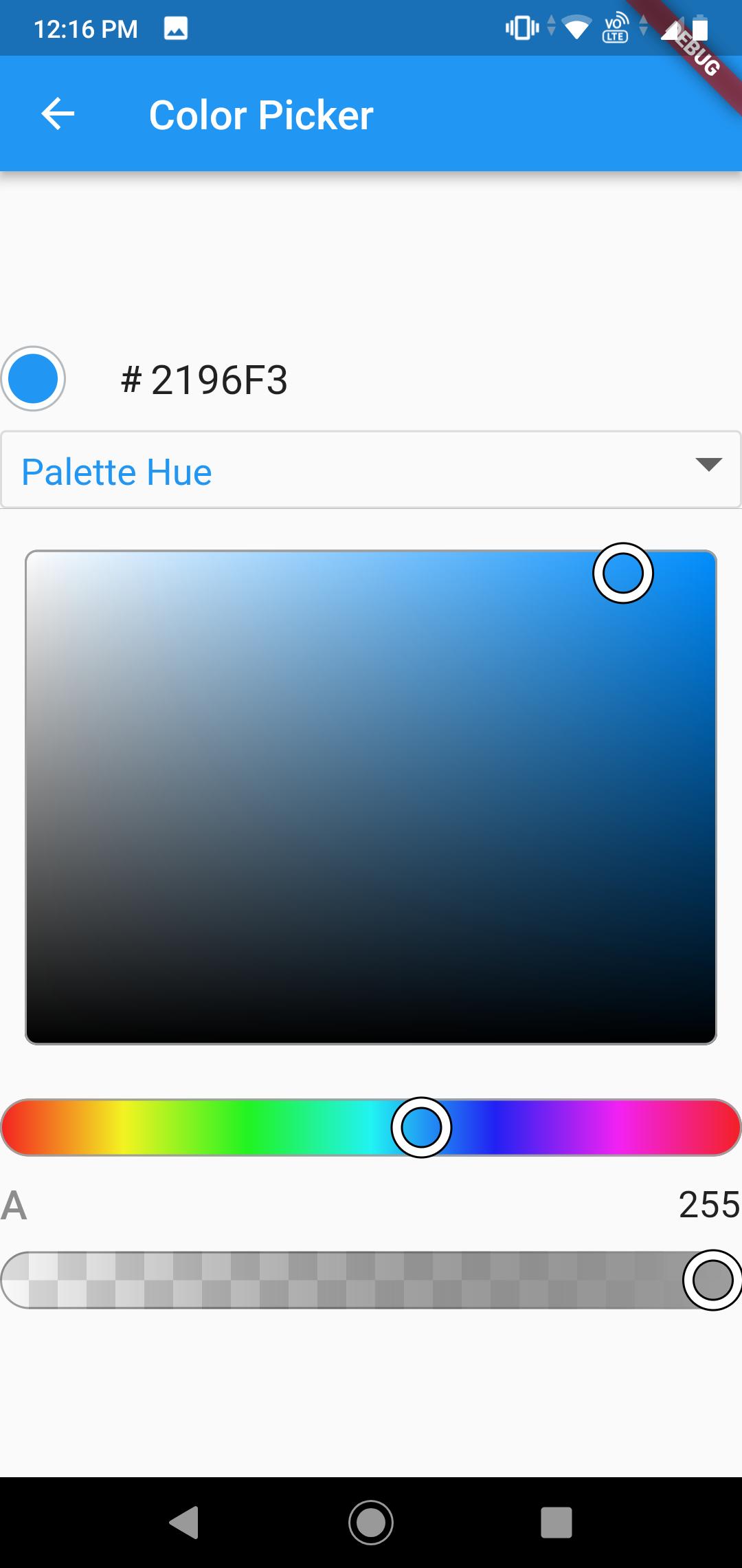 Flutter UI Components
