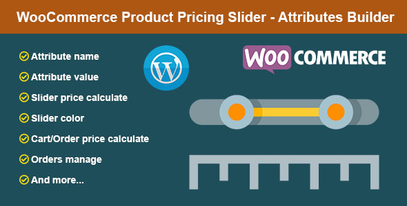 WooCommerce Product Pricing Slider - Attributes Builder