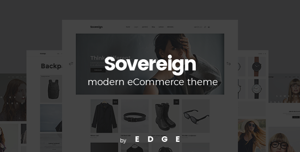 Sovereign - Minimalistic Shop