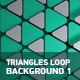 Triangles Loop Backgrounds 1 - VideoHive Item for Sale