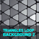 Triangles Loop Backgrounds 2 - VideoHive Item for Sale