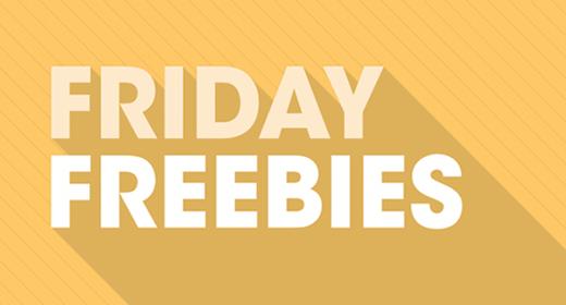 Friday Freebies - 17 May 2019