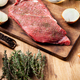 Raw steak seasoned with salt and papper ready to be grilled - PhotoDune Item for Sale