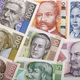 Full set of Croatian money, a background  - PhotoDune Item for Sale