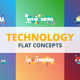 Technology - Typography Flat Concept - VideoHive Item for Sale