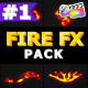 Flammable FX Elements | Apple Motion - VideoHive Item for Sale
