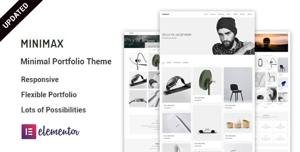 Wonderful Minimax - Minimal portfolio WordPress Theme
