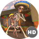 Mexican Dancing Skeletons In A Village #1 - VideoHive Item for Sale