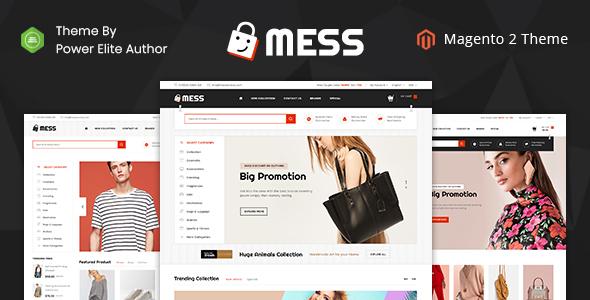 Mess - Responsive Magento 2 Theme