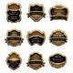 Set of vintage brown labels - GraphicRiver Item for Sale