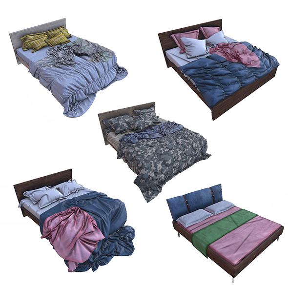 Pbr Beds - 5 Pieces