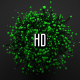 Green Atom Array - VideoHive Item for Sale
