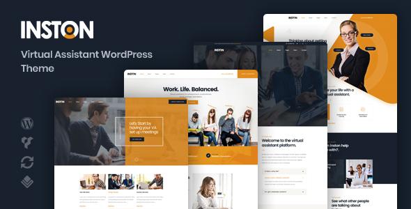 Inston - Virtual Assistant WordPress Theme