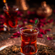 Turkish tea in traditional glass - PhotoDune Item for Sale