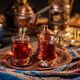 Turkish tea in a traditional cups - PhotoDune Item for Sale