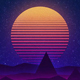 Retrowave Audio React - VideoHive Item for Sale