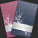 Elegant Floral Wedding Card - GraphicRiver Item for Sale