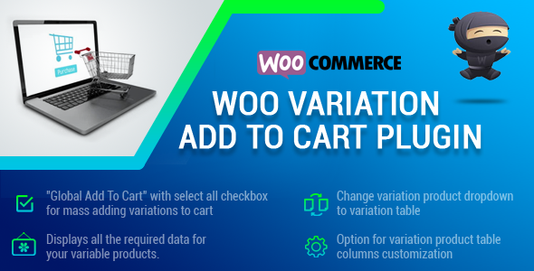 WooCommerce Product Variation List WordPress Plugin