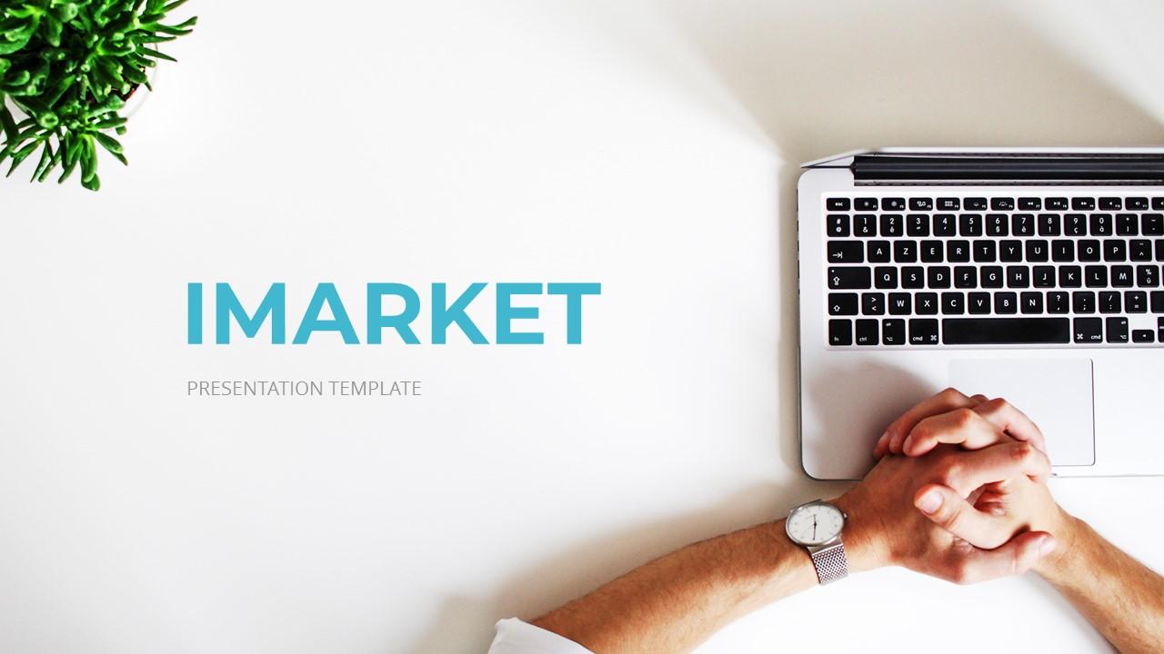 Imarket - Internet Marketing Google Slides Template