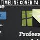 Ribbon Facebook Timeline Template - GraphicRiver Item for Sale