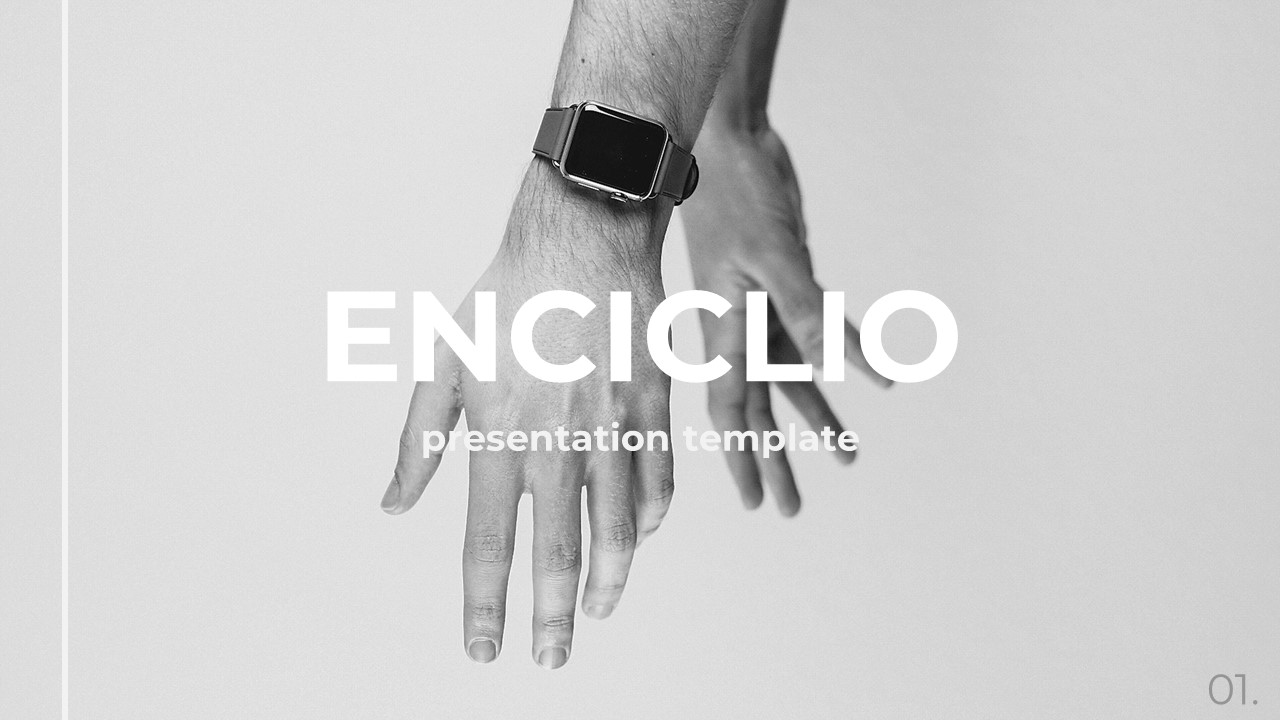 Enciclio - Creative PowerPoint Template