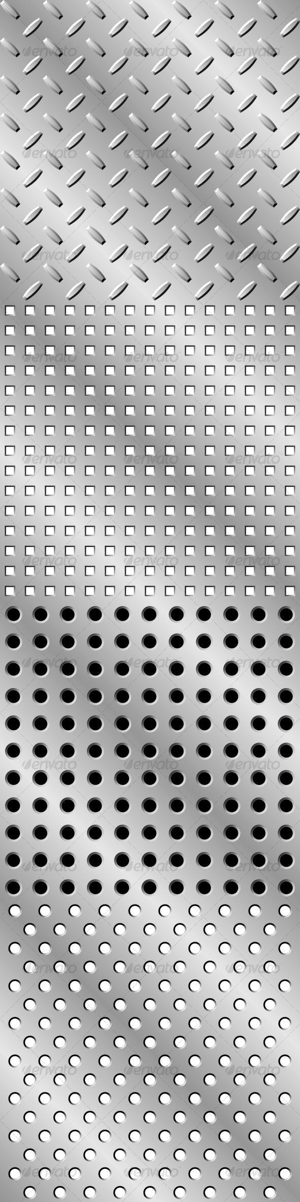 Seamless steel background - Backgrounds Decorative