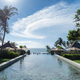 pool and blue sky in bali - PhotoDune Item for Sale