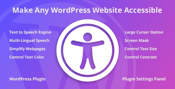 Accessibility WordPress Plugin