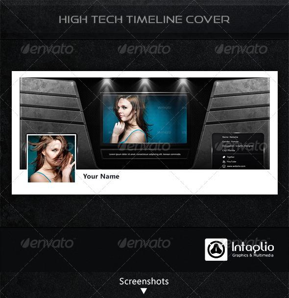 High-Tech Facebook Timeline Cover - Facebook Timeline Covers Social Media