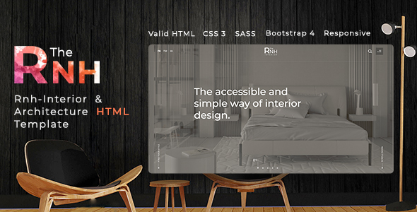 TheRNH - Interior and Architecture HTML Template