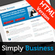 Simply Business - HTML Small Business Template Nulled